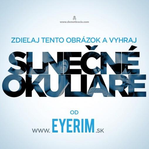 Súťaž o okuliare s EYERIM.sk