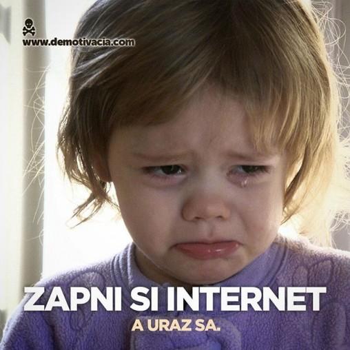 Zapni si internet a uraz sa!