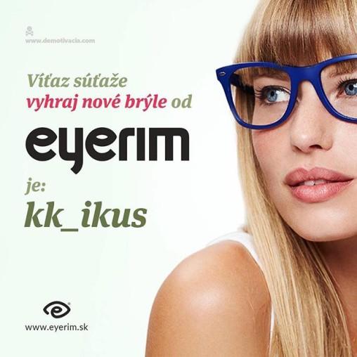 Výsledky súťaže s Eyerim