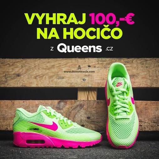 Súťaž s Queens.cz o 100 € na hocičo