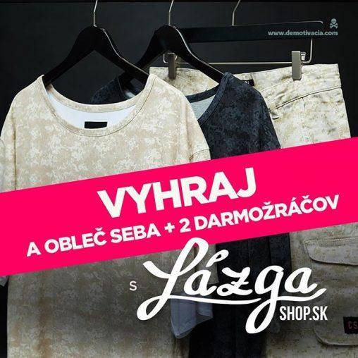 Súťaž s Lazgashop.sk