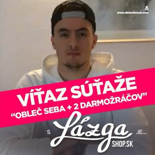 Vyhodnotenie súťaže s Lazgashop.sk