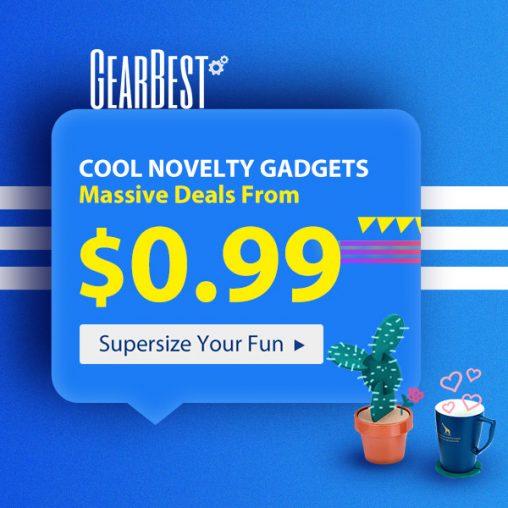 Gearbest.com - produkty už od 0,99$