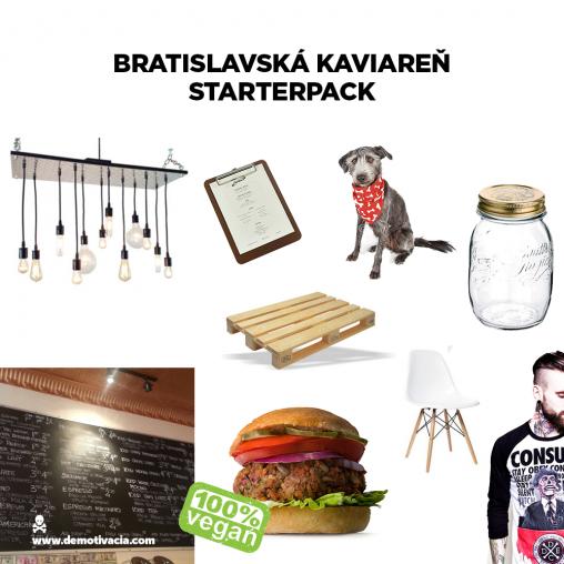 Bratislavská kaviareň starterpack