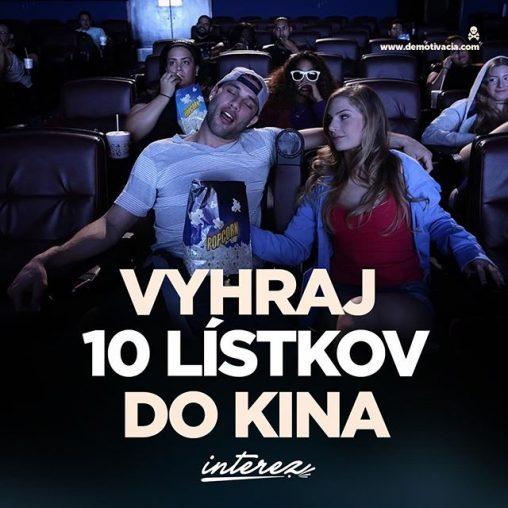 Súťaž o lístky do kina s Interez.sk
